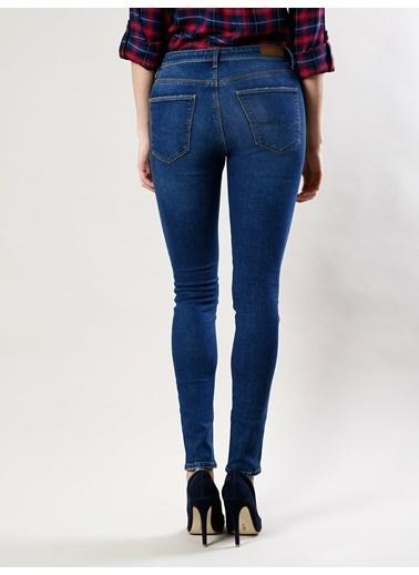 Colin's 759 Lara Super Slim Fit Orta Bel Skinny Leg Kadın Jean Pantolon Renkli